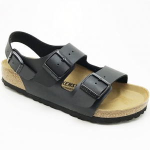 Birkenstock sandały MILANO 0034791 BLACK, regular fit