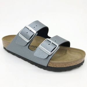 Arizona Birkenstock 1014284 Antracit Metalic, szerokie, G-H-K-M