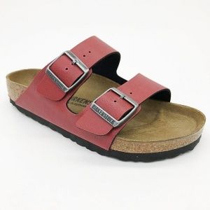Arizona Birkenstock 1000172 bordo, szerokie, G-H-K-M