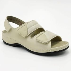 e5dd9434 Berkemann Sofie 01020-725 beige, regulowane damskie sandały