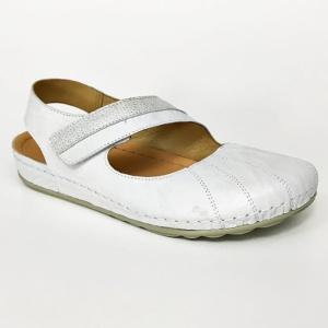 Dr Brinkmann 710845 4 wygodne sandałki damskie, zakryte