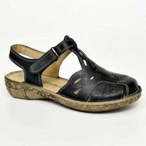 cc8def2fe14 Comfortabel 720108-1 skórzane sandały damskie, zakryte palce