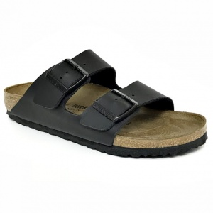 Klapki ARIZONA Birkenstock 0051791 black, regular fit